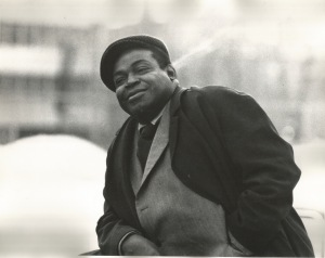 Willie Dixon on a cold Montreal day, 1971.